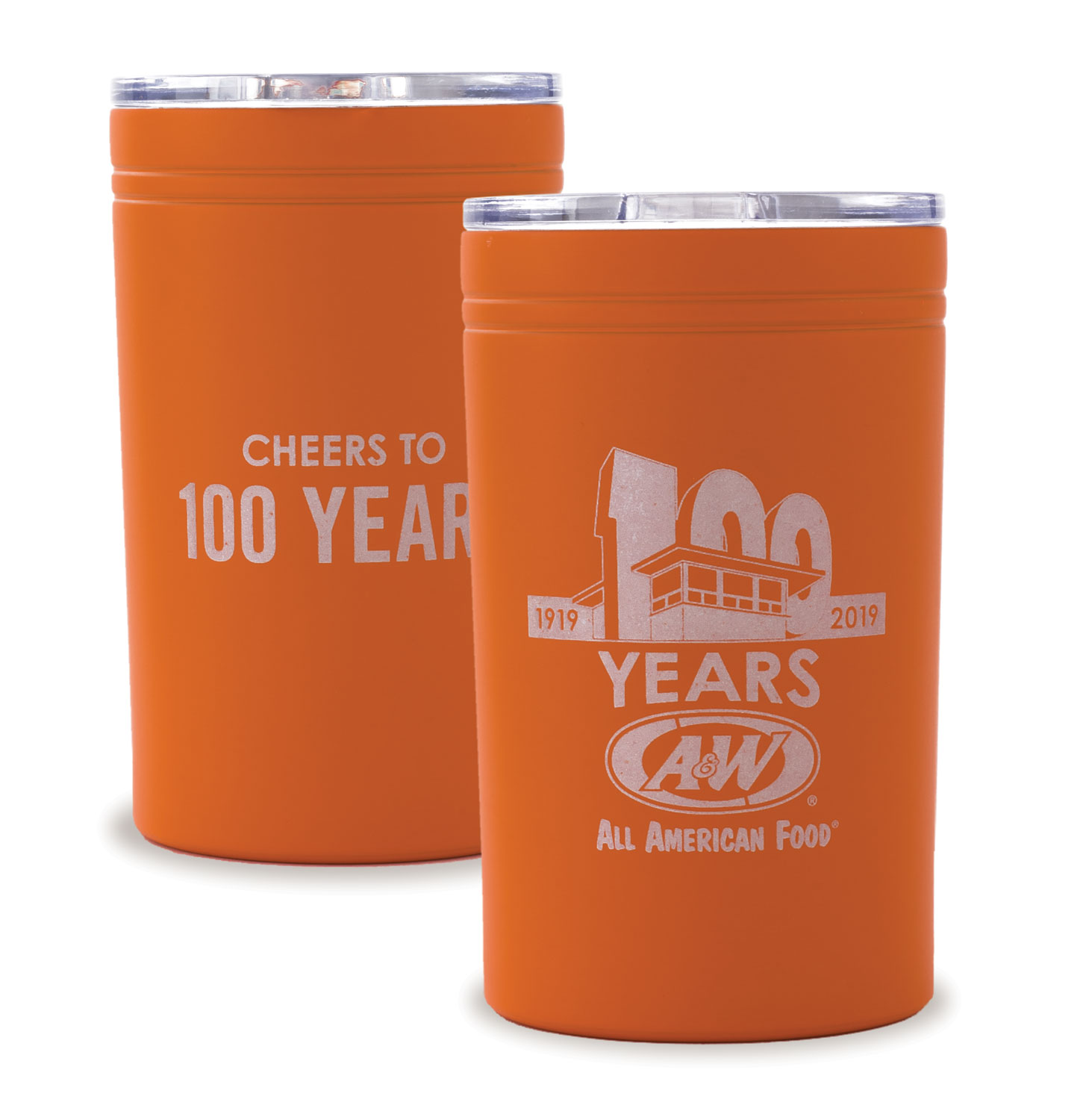 100th Anniversary Stainless Steel tumbler / Can Holder Combo